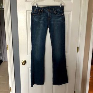 Lucky Brand Long Inseam Boot Cut Jeans